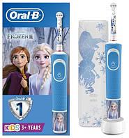 Зубна електрощітки Braun ORAL-B щітка 3+ D100.413.2 KX Frozen II 3710