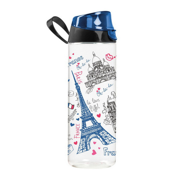 Бутылка для воды Херевин HEREVIN Waterbottle Paris (750 ml)