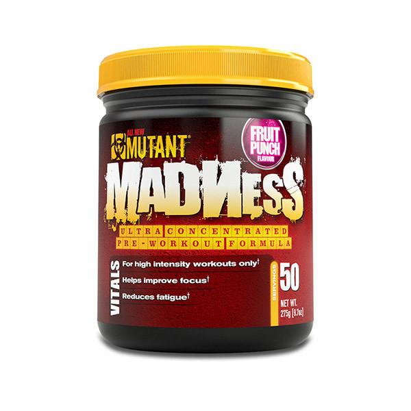 Предтреник Mutant Madness (225 г) мутант маднесс peach mango