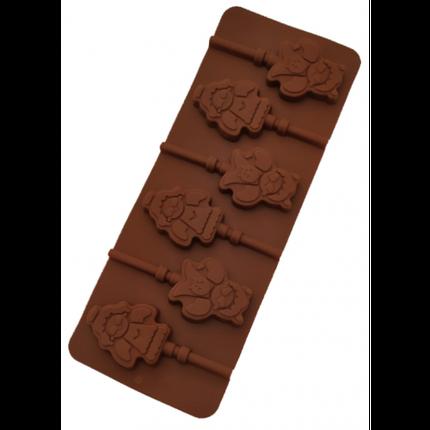 """Силиконовая форма для конфет """"Ангел"""" арт. 840-623, фото 2"""