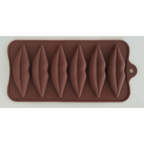 """Силиконовая форма для конфет """"Губы"""" JSC-2775 арт. 822-9-15"""