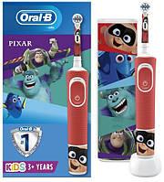 Зубна електрощітки Braun ORAL-B щітка 3+ D100.413.2 KX Pixar 3710