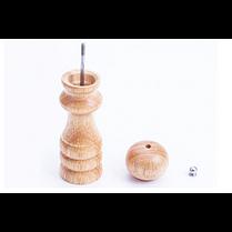 Мельница для перца (20,5х4,5 см, дерево), арт. 55-14, фото 3