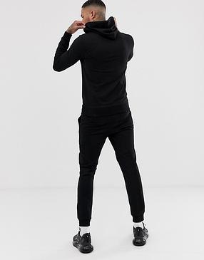 Серый мужской спортивный костюм Reebok (Рибок) на лето, фото 2