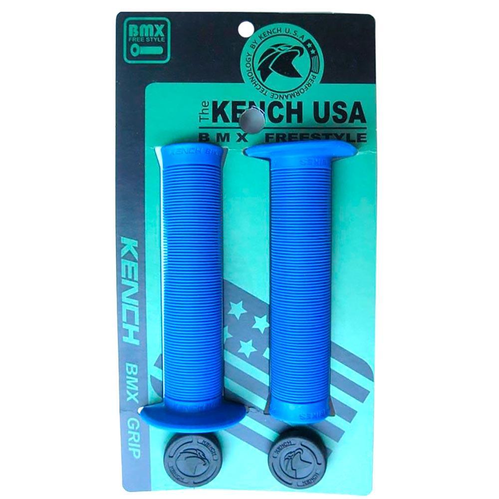 Гріпси з фланцем для BMX Kench KH-GP-01 140мм сині