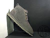Мужские ботинки UGG Neumel Suede Boots Dark Fawn Gray 3236