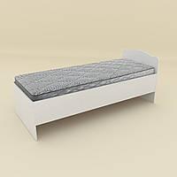 Кровать 80 Компанит Белый new1-159, КОД: 996050