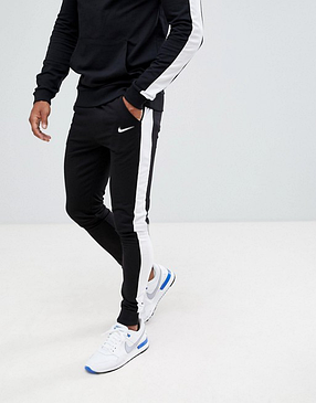 Мужской  спортивный костюм  для тренировок Nike, Найк, в стиле, черный, фото 2