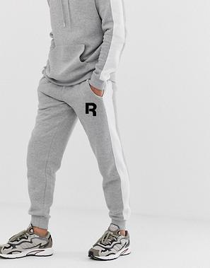 Мужской  спортивный костюм  для тренировок Reebok, Рибок, в стиле, серый, фото 2