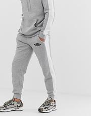 Спортивный зимний костюм кенгуру Umbro, Умбро, в стиле, серый, фото 3