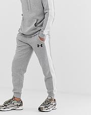 Мужской  спортивный костюм  для тренировок Under Armour ,Андер Армор, в стиле, серый, фото 3