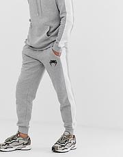 Тренировочный зимний мужской костюм Venum, Венум, в стиле, серый, фото 3
