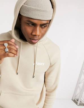 Спортивный мужской костюм Asics (Асикс) бежевый, фото 2