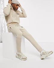 Спортивний чоловічий костюм Venum (Венум) бежевий, фото 2