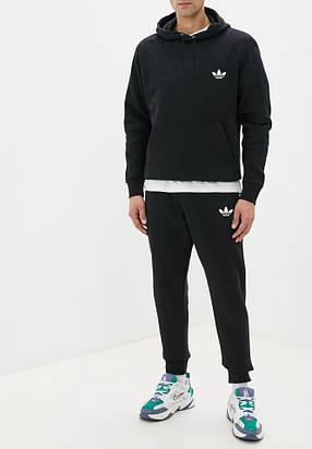 Летний спортивный костюм кенгуру Adidas (Адидас) трикотажный, мужской, фото 2