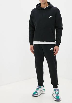 Летний мужской спортивный костюм Nike (Найк) с капюшоном, фото 2