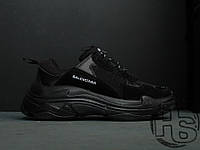 Женские кроссовки Balenciaga Triple S Trainers Triple Black