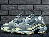 Женские кроссовки Balenciaga Triple S Trainers Gray 483513W06E11259