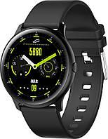 Умные смарт часы King Wear KW13 с AMOLED дисплеем и влагозащитой IP68 (Черный), фото 1