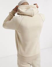 Спортивный мужской костюм New Balance (Нью Беленс) бежевый, фото 3