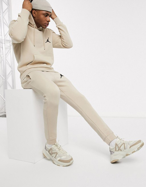 Спортивный мужской костюм Jordan (Джордан) бежевый