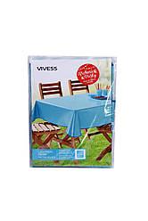 Скатерть vivess 130х160 см Бирюзовый K10-550043, КОД: 1791314