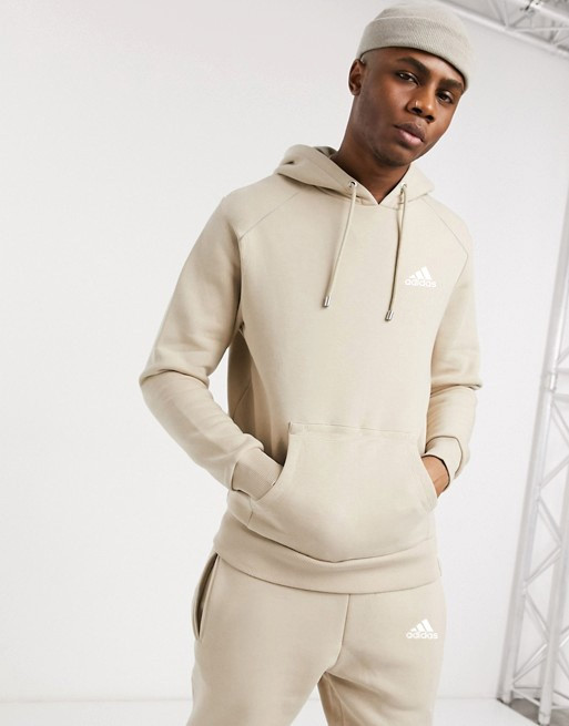 Спортивний чоловічий костюм Adidas (Адідас) бежевий