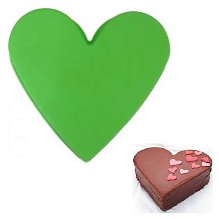"""Силиконовая форма для выпечки """"Сердце"""" арт. 840-67017, фото 2"""