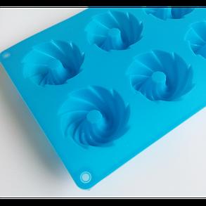"""Силиконовая форма для выпечки кексов """"Зефир"""" YH-084 арт. 822-15A-20, фото 2"""