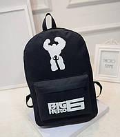 Рюкзак молодежный,городской, спортивный Big Hero 6!