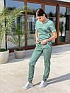 """Жіночий медичний костюм """"Мікс"""", фото 3"""