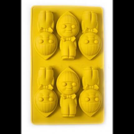 """Силиконовая форма для выпечки кексов """"Маша"""" арт. 822-10-5, фото 2"""