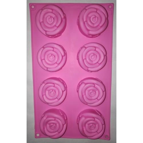 """Силиконовая форма для выпечки кексов """"Цветы"""" арт. 850-720732"""