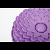 """Силиконовая форма для выпечки кексов и пирогов """"Цветы"""" YH-080 арт. 822-15A-8, фото 3"""