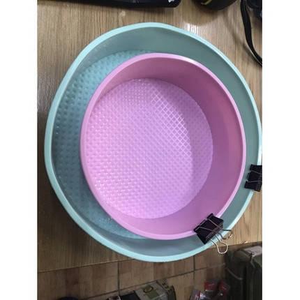Силиконовая форма для выпечки круглая арт. 840-15A30011, фото 2