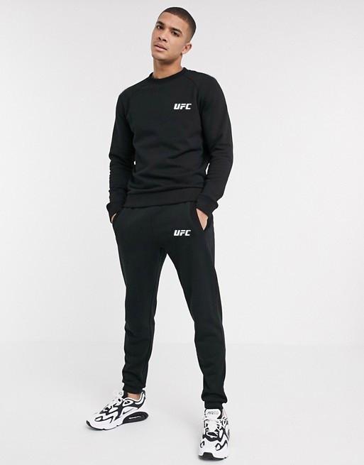Спортивный костюм мужской UFC (ЮФС) Черный