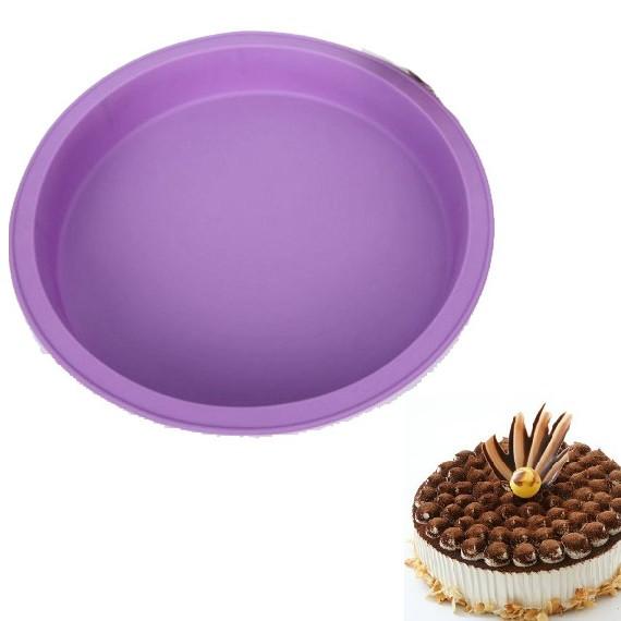 Силиконовая форма для выпечки круглая арт. 850-73095