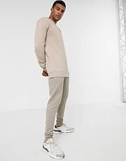 Мужской спортивный костюм Nike (Найк) Бежевый, фото 2