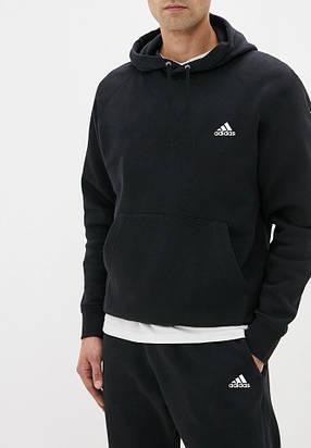 Літній чоловічий спортивний костюм Adidas (Адідас) з капюшоном, фото 2