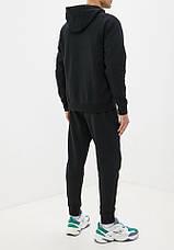 Літній чоловічий спортивний костюм Adidas (Адідас) з капюшоном, фото 3