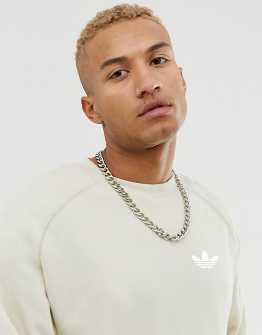 Кофта свитшот мужская Adidas (Адидас) Бежевая