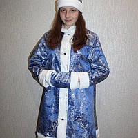 Новогодний карнавальный костюм Снегурочки 42-48