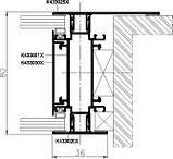 Система перегородок MB-80 OFFICE, фото 6