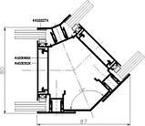 Система перегородок MB-80 OFFICE, фото 8