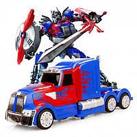 Игрушка трансформер р у MZ Optimus Prime 114 2335X, КОД: 2432117
