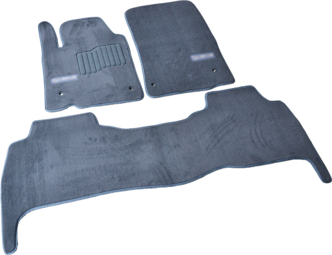 Коврики в салон ворсовые для Lexus LХ570 (2007-2012) /Серые, Premium GRLX1304