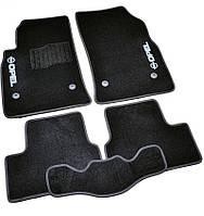 Коврики в салон ворсовые для Opel Astra J (2009-) /Чёрные 5шт BLCCR1441, фото 1