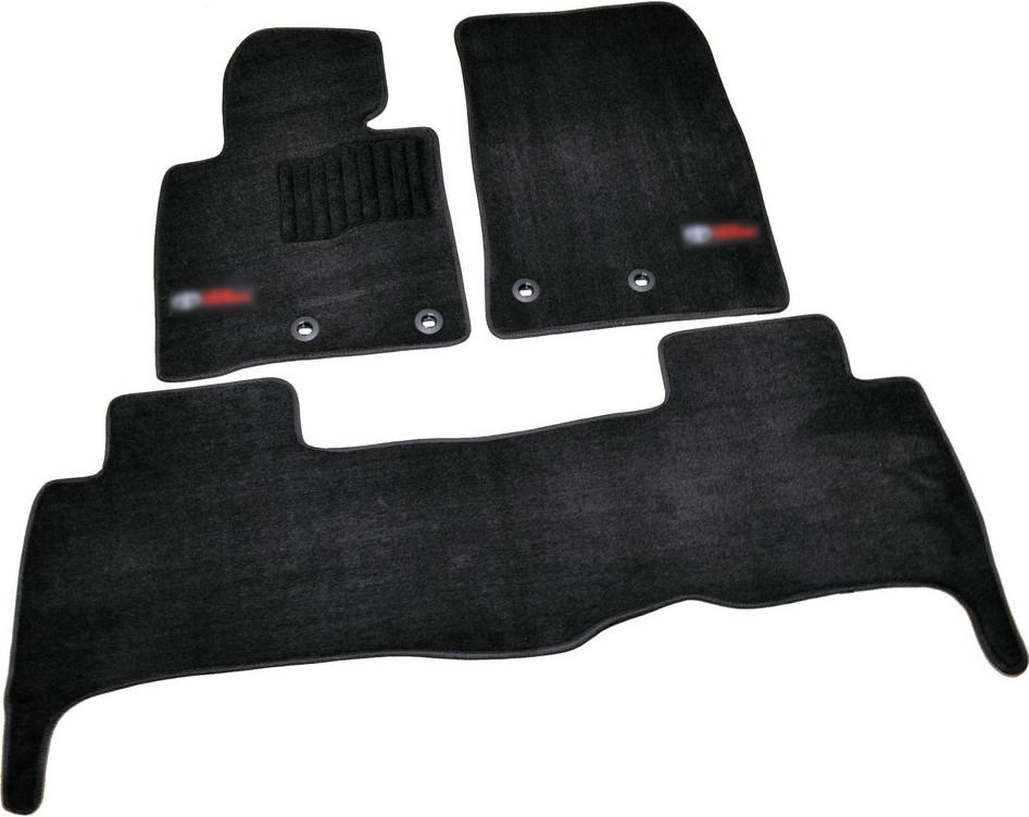 Коврики в салон ворсовые для Toyota Land Cruiser 200 (2013-) 5мест /Чёрн, Premium BLCLX1635