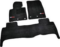 Коврики в салон ворсовые для Toyota Land Cruiser 200 (2013-) 5мест /Чёрн, Premium BLCLX1635, фото 1