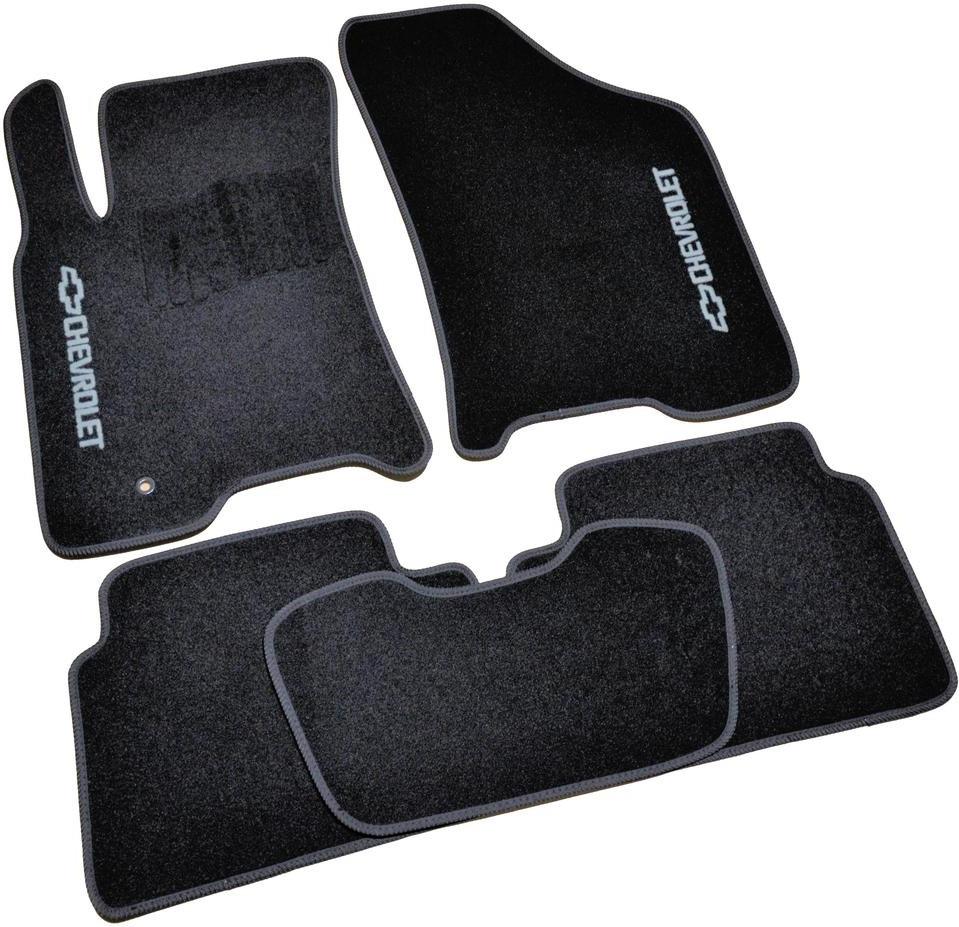 Коврики в салон ворсовые для Chevrolet Cruze (2008-) /Чёрные, кт. 5шт BLCCR1080